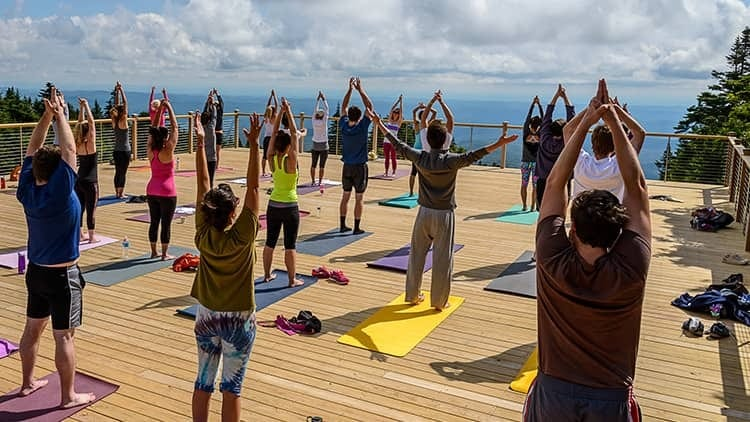 Group Yoga Retreats at Stratton Mountain