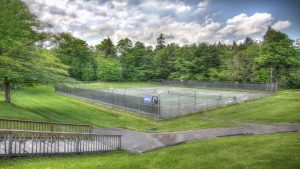 Sports Center Outdoor Tennis