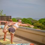 Yoga on pvt rooftop