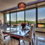 Dining room looking out over Playa Hermosa