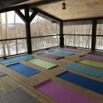 YogaDeck looking out at Green Mt Winter3
